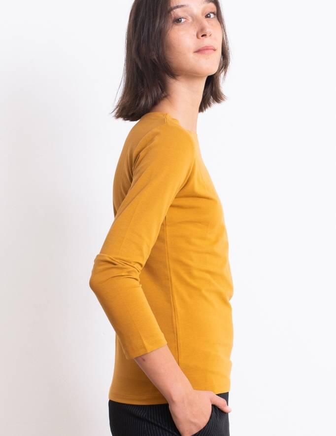 Alef Alef | אלף אלף - בגדי מעצבים | חולצת Nico חרדל