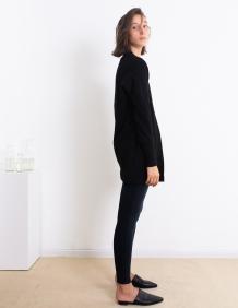 Alef Alef | אלף אלף - בגדי מעצבים | עליונית Kate שחור פיקה