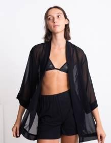 Alef Alef | אלף אלף - בגדי מעצבים | חזיית Flo  שחור פס כסף
