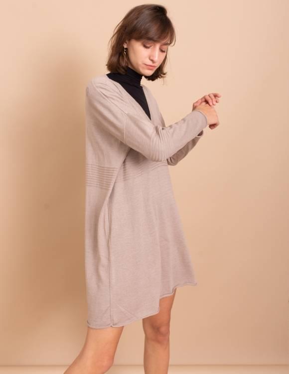 Alef Alef | אלף אלף - בגדי מעצבים | שמלת Audry מוקה
