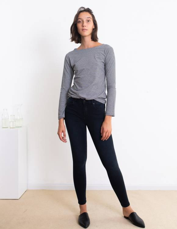 Alef Alef | אלף אלף - בגדי מעצבים | ג'ינס Dr. Denim Lexy כחול כהה