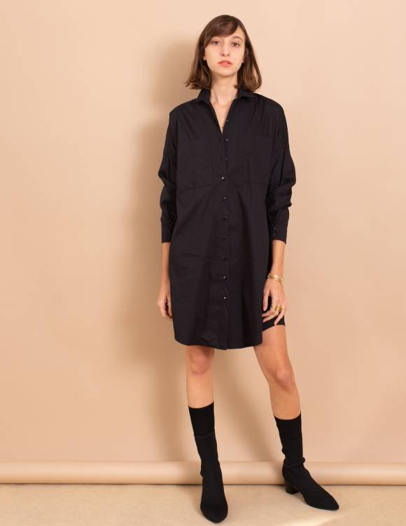 Alef Alef | אלף אלף - בגדי מעצבים | שמלת Nina שחור