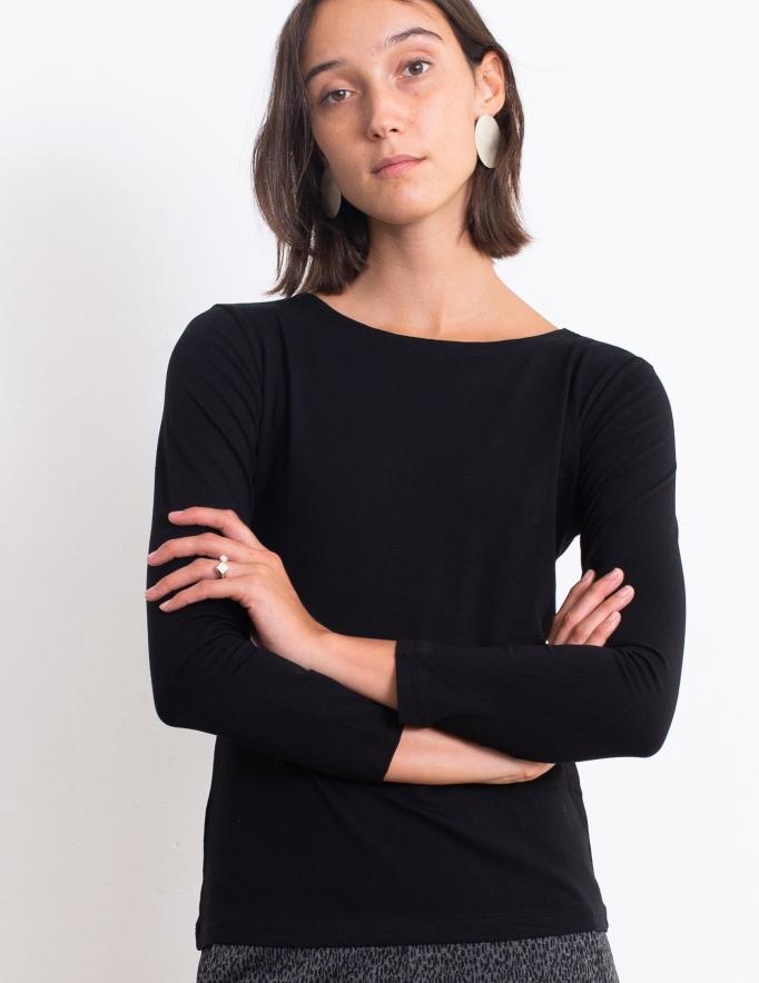 Alef Alef | אלף אלף - בגדי מעצבים | חולצת Nico שחור