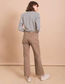 Alef Alef | אלף אלף - בגדי מעצבים | מכנסי Paul חאקי