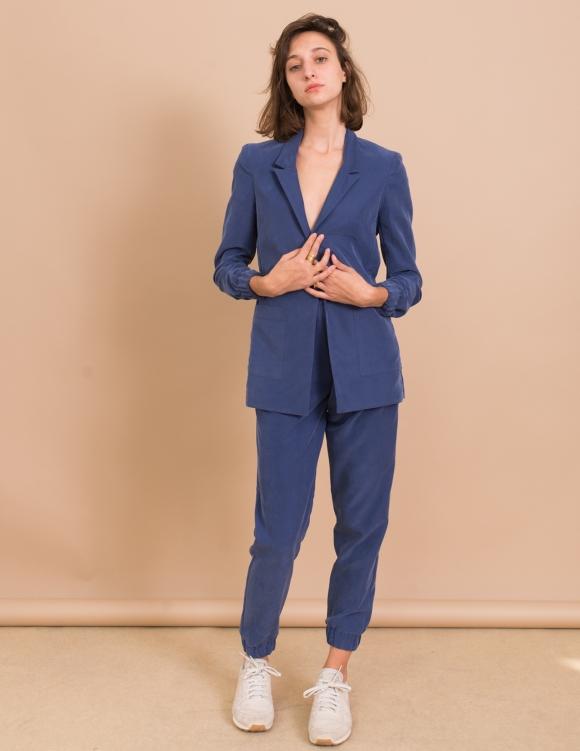 Alef Alef | אלף אלף - בגדי מעצבים | ג'קט Cher כחול