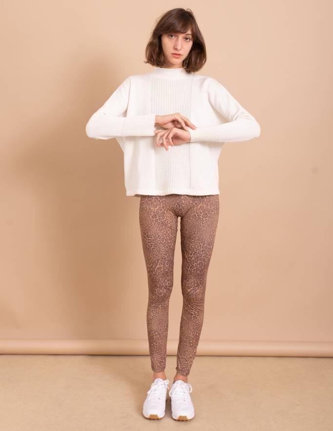 Alef Alef | אלף אלף - בגדי מעצבים | סוודר Anton לבן