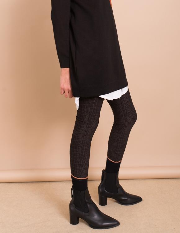 Alef Alef | אלף אלף - בגדי מעצבים | מגפי Ashton //  Sol Sana שחור