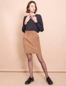 Alef Alef | אלף אלף - בגדי מעצבים | חצאית Gorgia קאמל