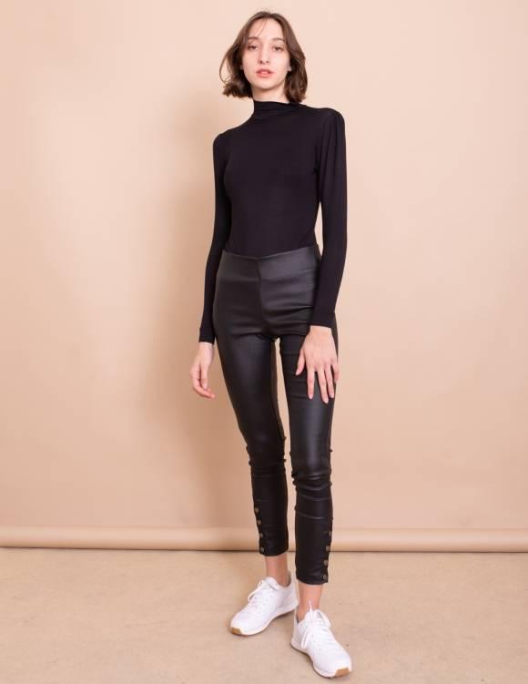 Alef Alef | אלף אלף - בגדי מעצבים | חולצת Amy שחור