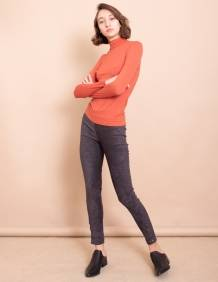 Alef Alef | אלף אלף - בגדי מעצבים | חולצת Amy חמרה