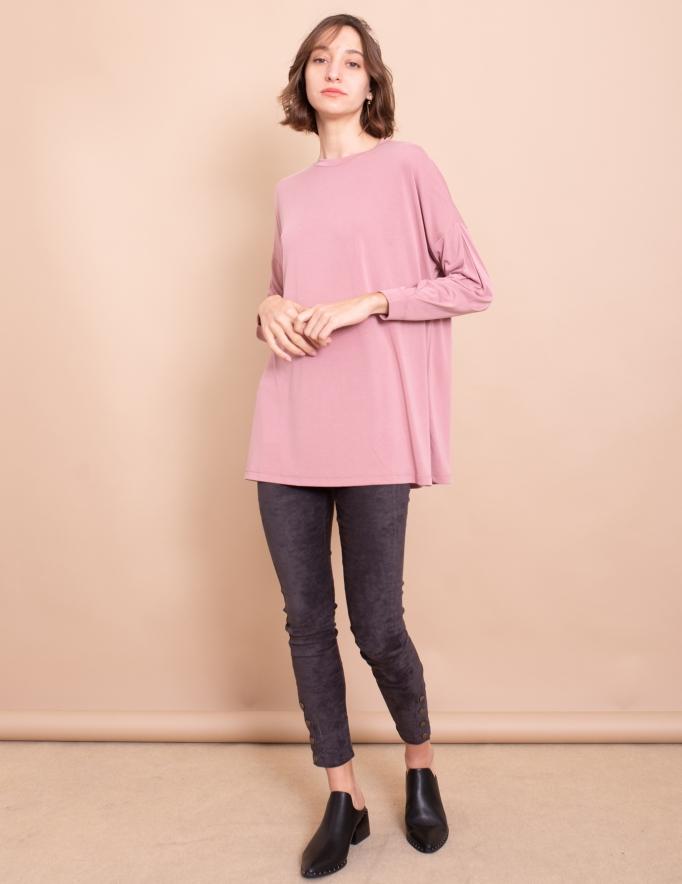 Alef Alef | אלף אלף - בגדי מעצבים | חולצת Jil ורוד