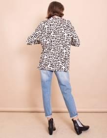 Alef Alef | אלף אלף - בגדי מעצבים | חולצת Jil הדפס חברבורות