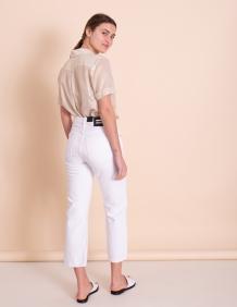 Alef Alef | אלף אלף - בגדי מעצבים | Dr Denim ג'ינס Cadell לבן