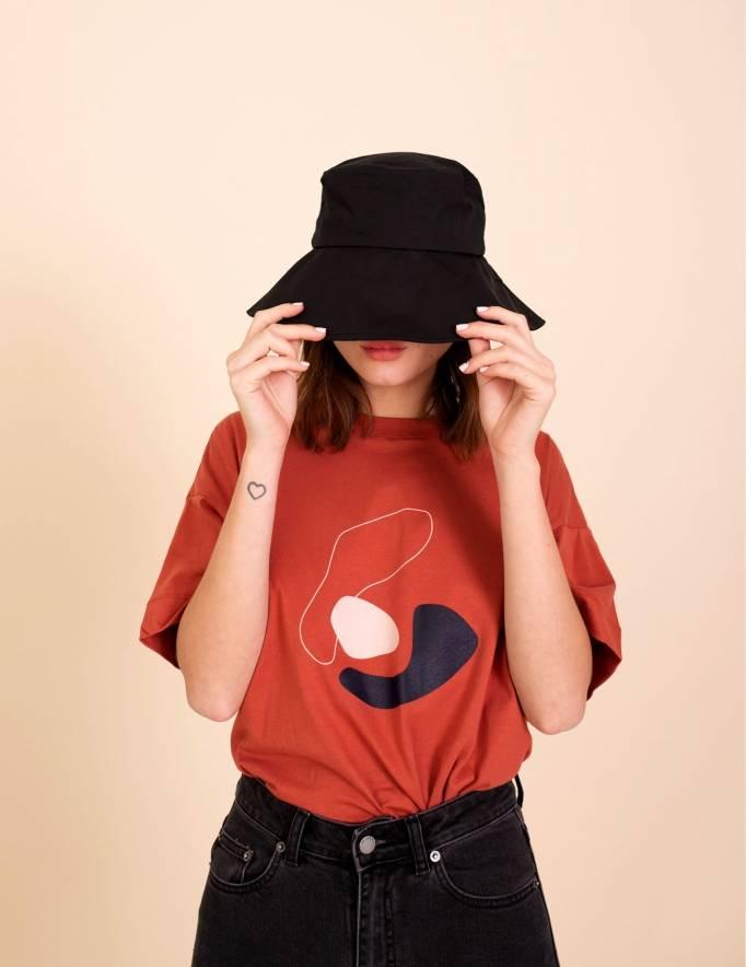 Alef Alef | אלף אלף - בגדי מעצבים | חולצת Odessa חמרה הדפס
