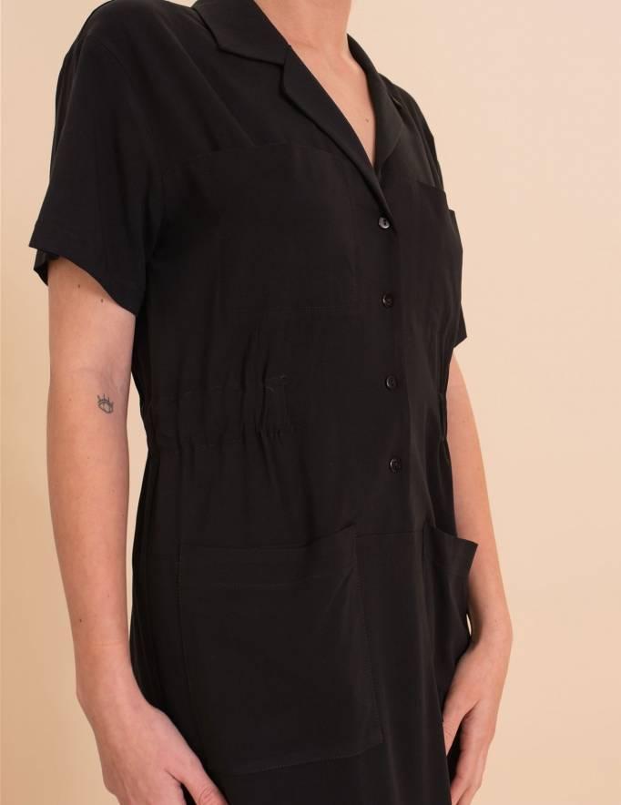 Alef Alef | אלף אלף - בגדי מעצבים | שמלת Wham! שחור