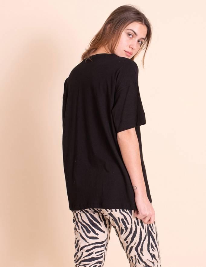 Alef Alef   אלף אלף - בגדי מעצבים   חולצת Odessa שחור