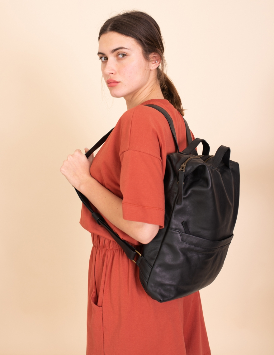 Alef Alef | אלף אלף - בגדי מעצבים | LadyBird תיק אלכס שחור