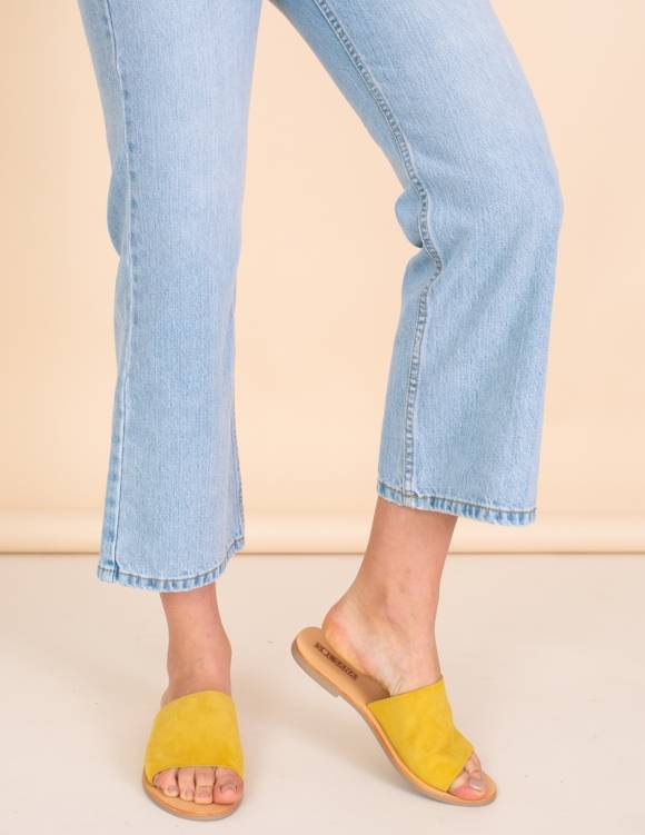 Alef Alef | אלף אלף - בגדי מעצבים | כפכפי Sol Sana | חרדל Teresa