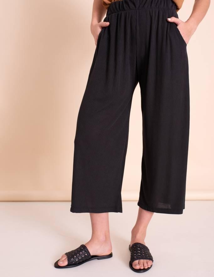 Alef Alef | אלף אלף - בגדי מעצבים | כפכפי Sol Sana | שחור קלוע Teresa