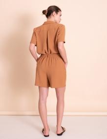 Alef Alef | אלף אלף - בגדי מעצבים | מכנסי Clark קאמל