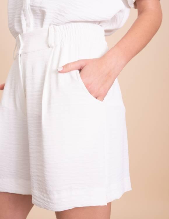 Alef Alef | אלף אלף - בגדי מעצבים | מכנסי Clark לבן