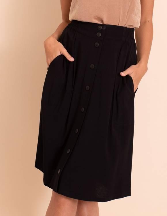 Alef Alef | אלף אלף - בגדי מעצבים | חצאית Jane שחור
