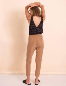 Alef Alef | אלף אלף - בגדי מעצבים | מכנסי Don קאמל