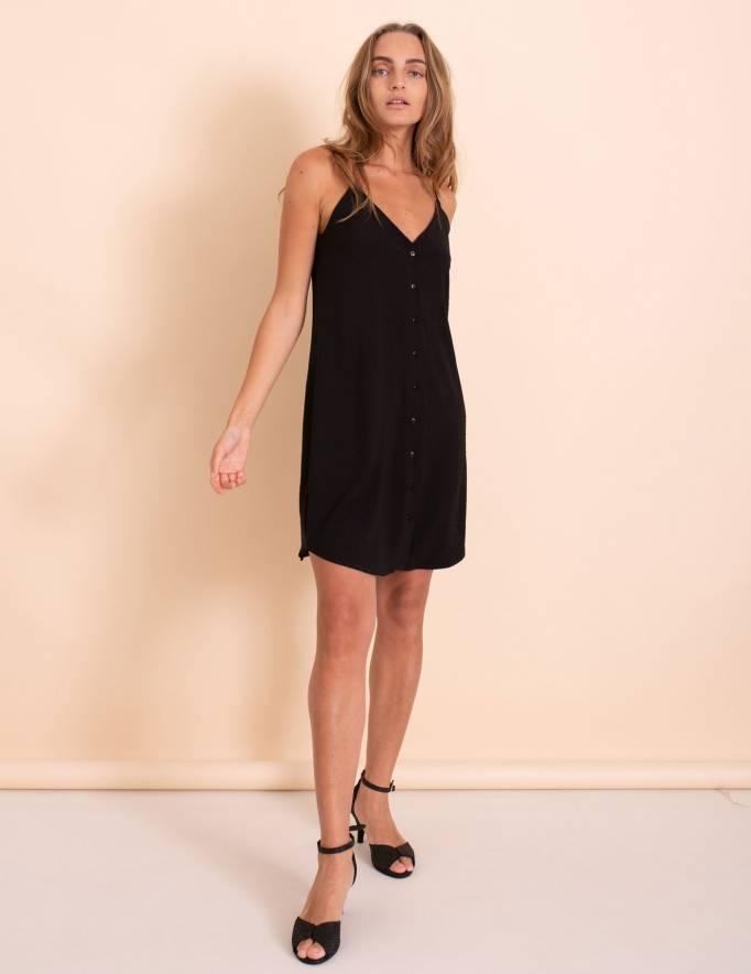 Alef Alef | אלף אלף - בגדי מעצבים | שמלת Duran שחור