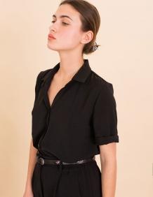 Alef Alef | אלף אלף - בגדי מעצבים | חולצת Lewis שחור