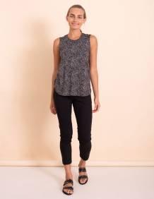 Alef Alef | אלף אלף - בגדי מעצבים | גופית Mary חברבורות שחור