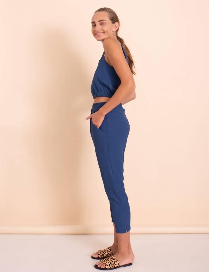 Alef Alef | אלף אלף - בגדי מעצבים | מכנסי Don נייבי