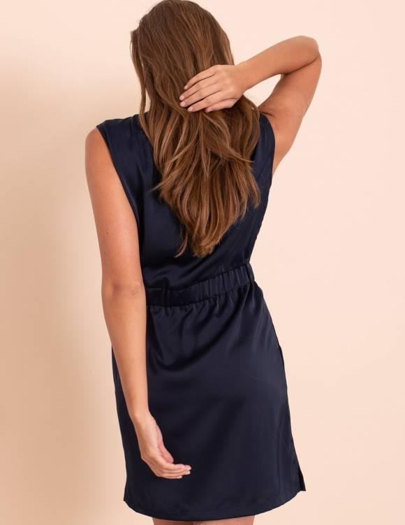 Alef Alef | אלף אלף - בגדי מעצבים | שמלת Millie נייבי