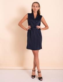 Alef Alef   אלף אלף - בגדי מעצבים   שמלת Millie נייבי