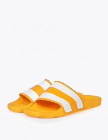 Alef Alef | אלף אלף - בגדי מעצבים | כפכפ סלידס פסים  RAFA | צהוב