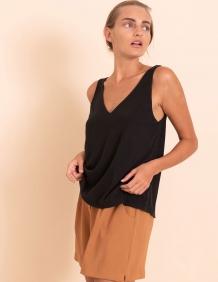 Alef Alef | אלף אלף - בגדי מעצבים | גופית Kurt שחור פחם