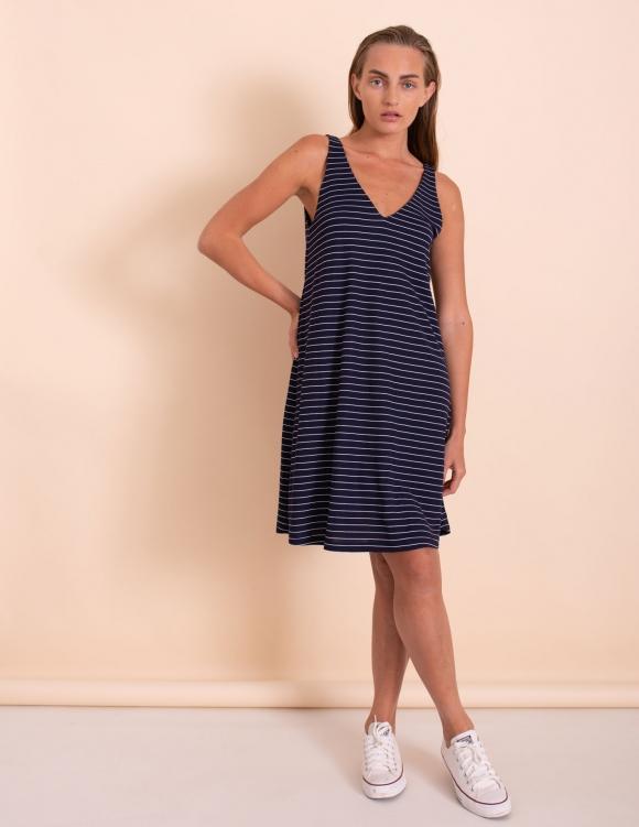 Alef Alef | אלף אלף - בגדי מעצבים | שמלת Kourtney נייבי