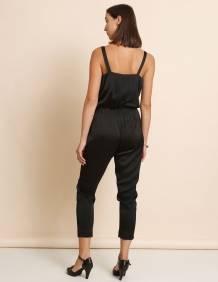 Alef Alef | אלף אלף - בגדי מעצבים | אוברול Roxette שחור