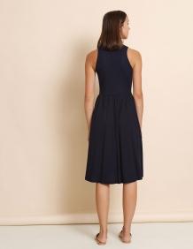 Alef Alef | אלף אלף - בגדי מעצבים | שמלת Ashley נייבי
