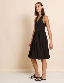 Alef Alef | אלף אלף - בגדי מעצבים | שמלת Ashley שחור