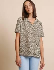 Alef Alef | אלף אלף - בגדי מעצבים | חולצת Lewis דפוס משולב