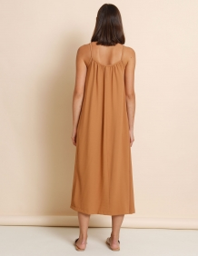 Alef Alef   אלף אלף - בגדי מעצבים   שמלת Rami קאמל