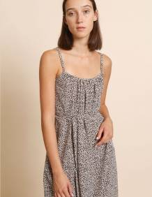 Alef Alef | אלף אלף - בגדי מעצבים | שמלת Rami ורוד דפוס