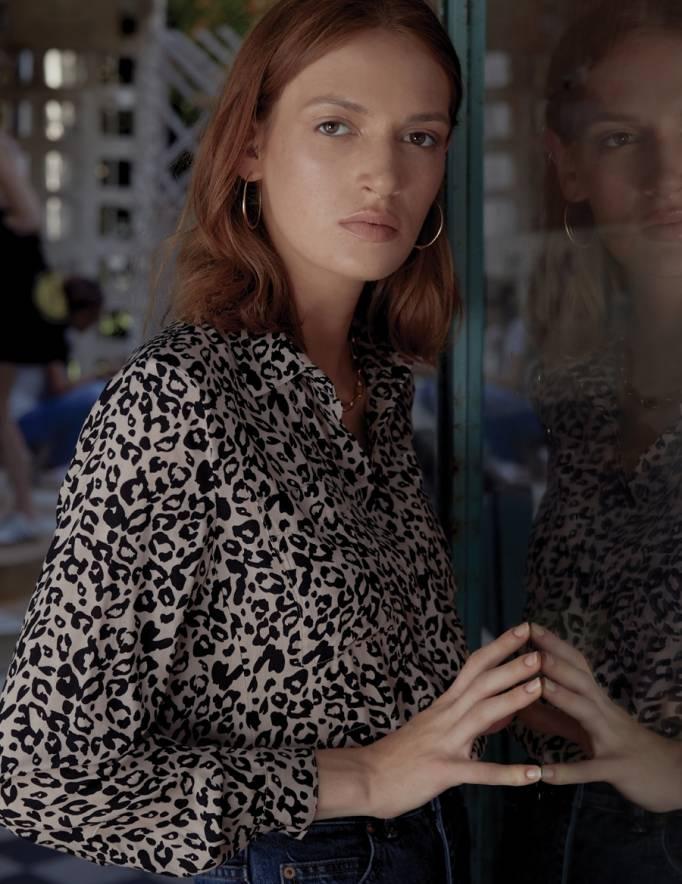 Alef Alef | אלף אלף - בגדי מעצבים | חולצת Joan | ניוד חברבורות