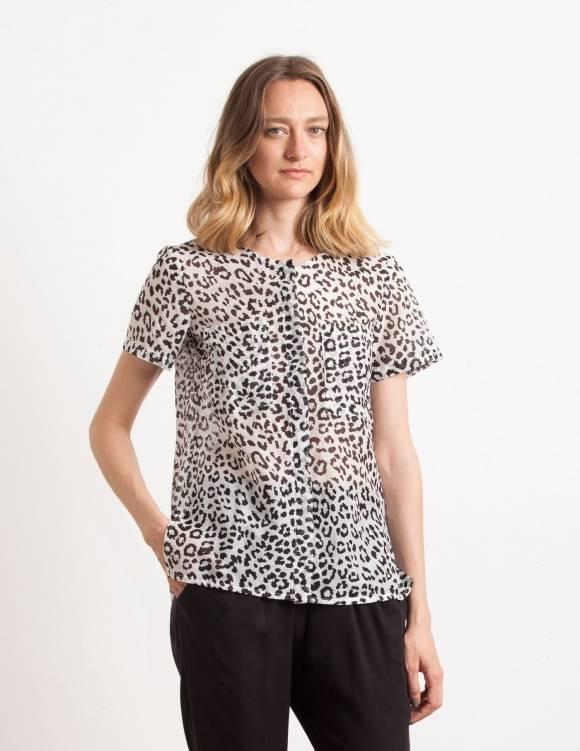 Alef Alef | אלף אלף - בגדי מעצבים | Sample#98 | חולצת בוסטון