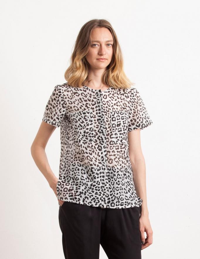 Alef Alef   אלף אלף - בגדי מעצבים   Sample#98   חולצת בוסטון
