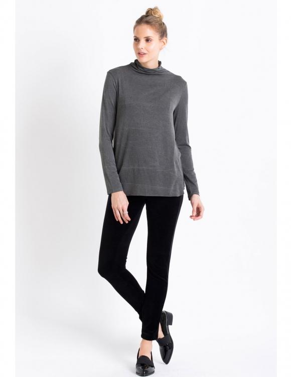 Alef Alef | אלף אלף - בגדי מעצבים | Sample#86 | חולצת Sample אפור כהה