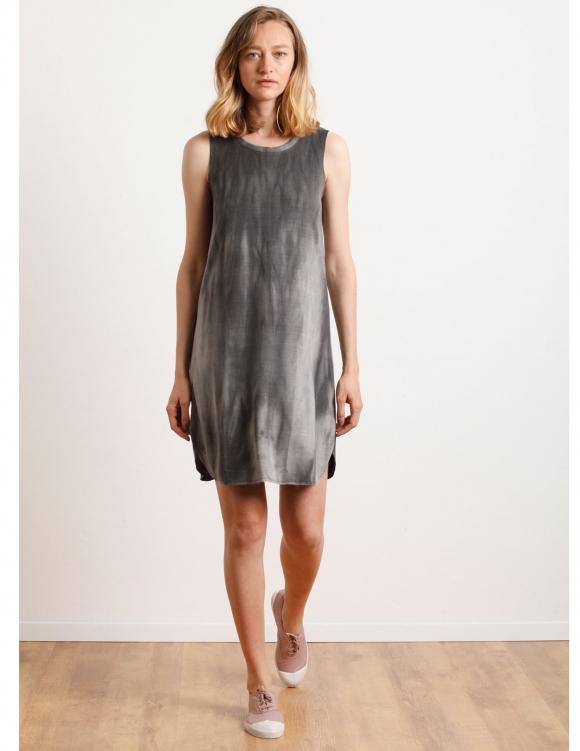 Alef Alef | אלף אלף - בגדי מעצבים | Sample#43 | שמלת Montreal אפור ווש