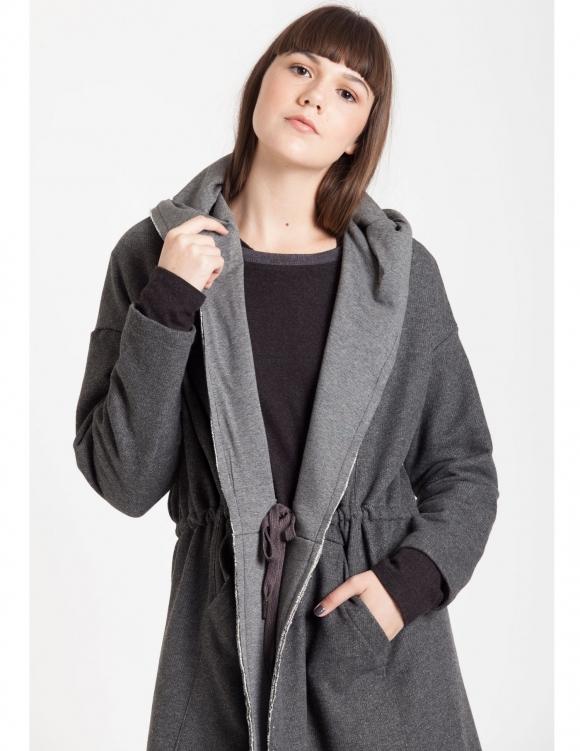 Alef Alef   אלף אלף - בגדי מעצבים   Sample#59   עליונית Efta אפור כהה