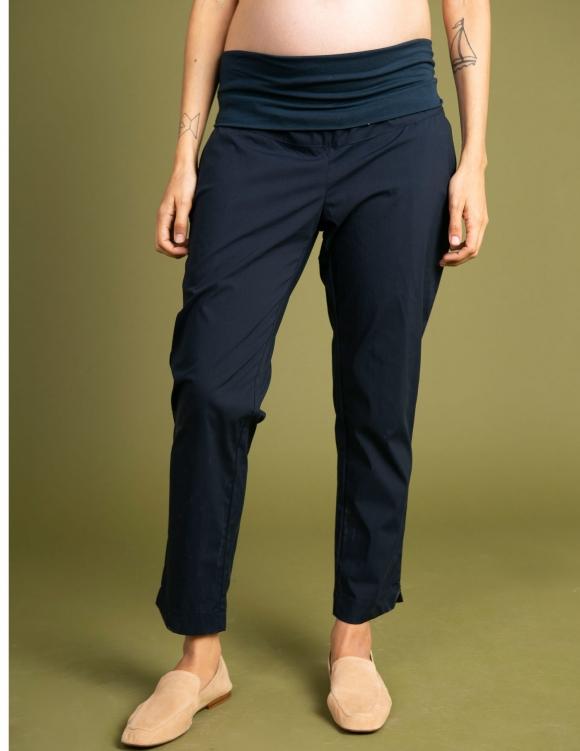 Alef Alef | אלף אלף - בגדי מעצבים | מכנסי Mor | נייבי