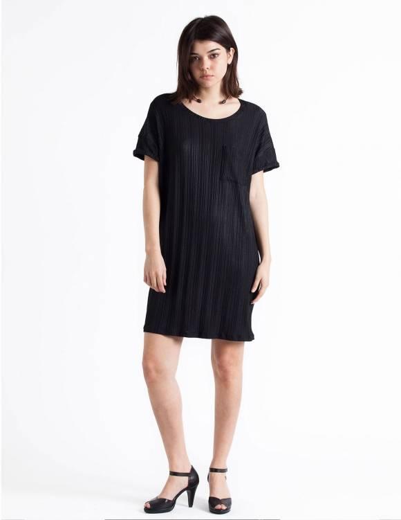 Alef Alef | אלף אלף - בגדי מעצבים | Sample#35 | שמלת Doro שחור ריב
